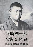 谷崎潤一郎 全集23作品:春琴抄、陰翳礼讃、鍵 他