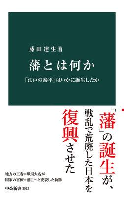 藩とは何か 「江戸の泰平」はいかに誕生したか-電子書籍