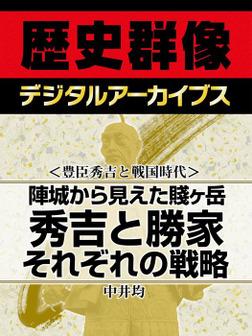 <豊臣秀吉と戦国時代>陣城から見えた賤ヶ岳 秀吉と勝家それぞれの戦略-電子書籍