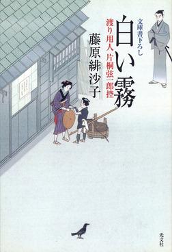 白い霧~渡り用人 片桐弦一郎控~-電子書籍