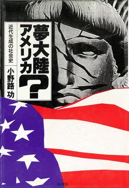 夢大陸アメリカ? 近代生成の社会史-電子書籍