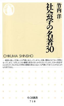 社会学の名著30-電子書籍