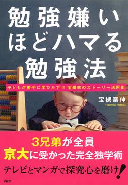 勉強嫌いほどハマる勉強法 子どもが勝手に学びだす!!宝槻家のストーリー活用術-電子書籍