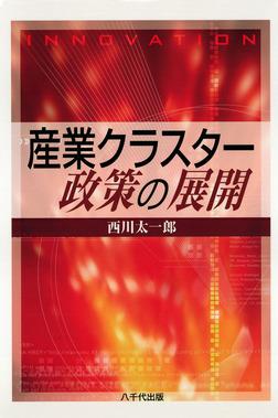 産業クラスター政策の展開-電子書籍