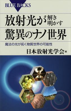 放射光が解き明かす驚異のナノ世界 魔法の光が拓く物質世界の可能性-電子書籍
