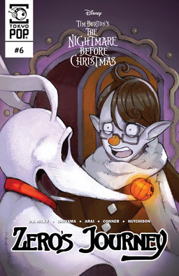 Disney Manga: Tim Burton's The Nightmare Before Christmas: Zero's Journey Issue #6