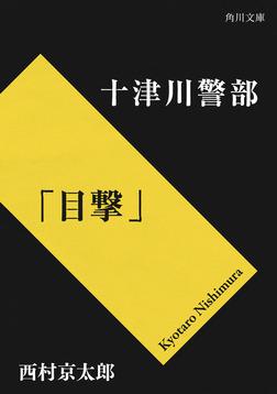 十津川警部「目撃」-電子書籍