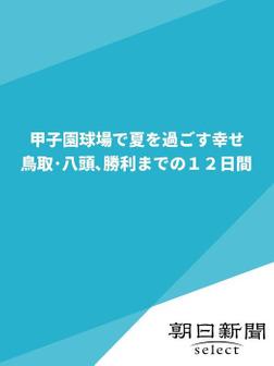 甲子園球場で夏を過ごす幸せ 鳥取・八頭、勝利までの12日間-電子書籍