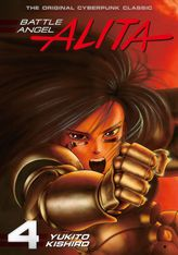 Battle Angel Alita Volume 4