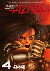 Battle Angel Alita Volume 4