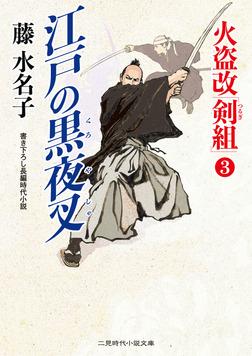 火盗改「剣組」3 江戸の黒夜叉-電子書籍