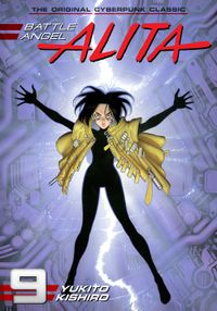 Battle Angel Alita Volume 9
