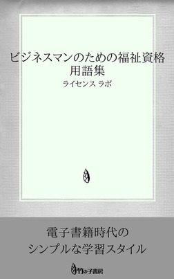 ビジネスマンのための福祉資格 用語集-電子書籍