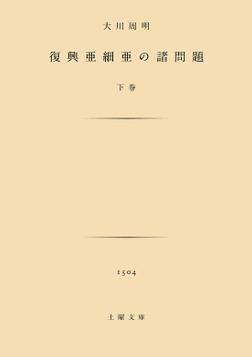 復興亜細亜の諸問題 下-電子書籍