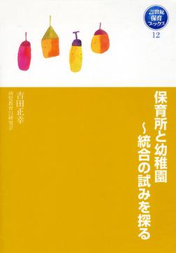 保育所と幼稚園~統合の試みを探る-電子書籍
