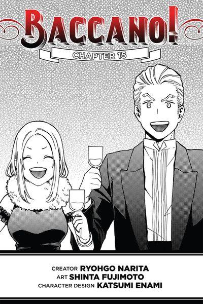Baccano!, Chapter 15 (manga)