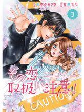 comic Berry's その恋、取扱い注意!3巻