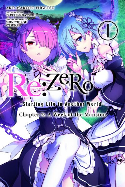 Re:ZERO -Starting Life in Another World-, Chapter 2: A Week at the Mansion, Vol. 1 - Manga