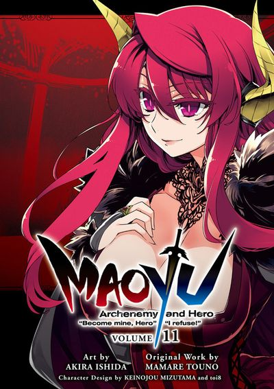"MAOYU : Archenemy and Hero ""Become mine, Hero"" ""I refuse!"" 11"