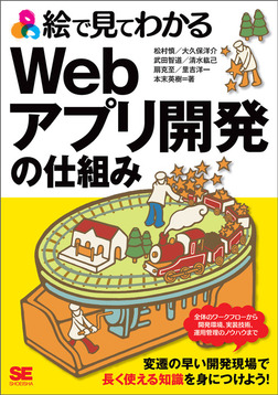 絵で見てわかるWebアプリ開発の仕組み-電子書籍