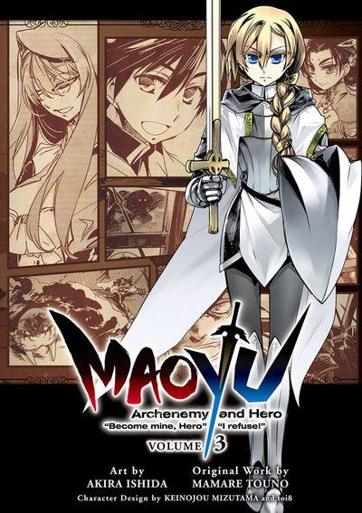 "MAOYU : Archenemy and Hero ""Become mine, Hero"" ""I refuse!"" 3"