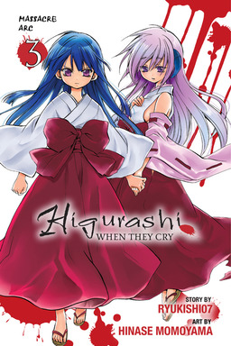 Higurashi When They Cry: Massacre Arc, Vol. 3