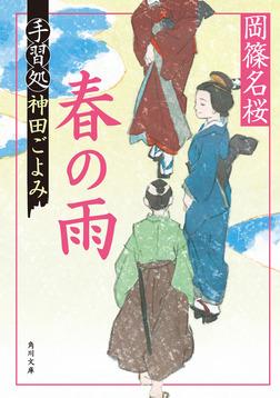 春の雨 手習処神田ごよみ-電子書籍