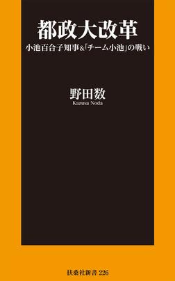 都政大改革 小池百合子知事&「チーム小池」の戦い-電子書籍