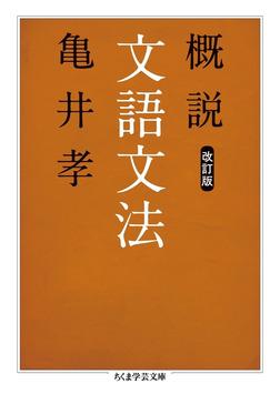 概説文語文法 改訂版-電子書籍