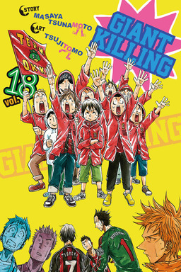 Giant Killing Volume 18