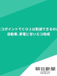 エコポイントでCO2は削減できるのか 自動車、家電に甘いエコ助成