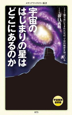 宇宙のはじまりの星はどこにあるのか-電子書籍