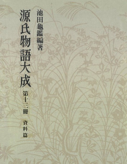 源氏物語大成〈第13冊〉 資料篇-電子書籍