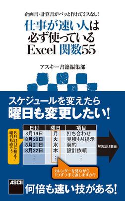 企画書・計算書がパッと作れてミスなし! 仕事が速い人は必ず使っているExcel関数55-電子書籍