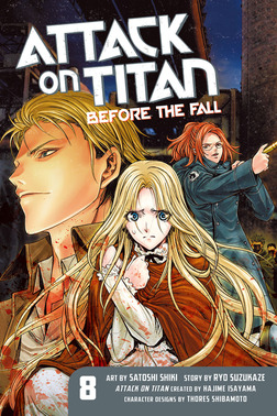 Attack on Titan: Before the Fall 8-電子書籍