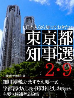 日本人なら知っておきたい 東京都知事選2・9-電子書籍