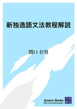 新独逸語文法教程解説-電子書籍