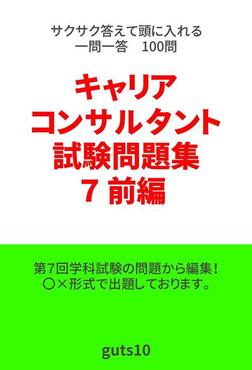 キャリアコンサルタント試験問題集第7回 前編-電子書籍