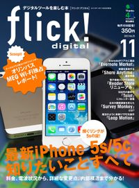 flick! digital 2013年11月号 vol.25