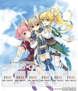 Sword Art Online: Girls' Ops, Vol. 1: Bookshelf Skin