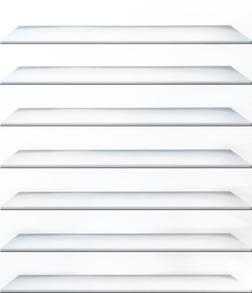 きせかえ本棚 『プラチナ』 【49冊収納】-電子書籍