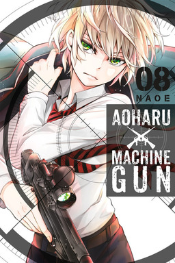 Aoharu X Machinegun, Vol. 8