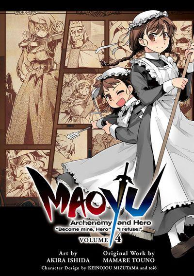 "MAOYU : Archenemy and Hero ""Become mine, Hero"" ""I refuse!"" 4"