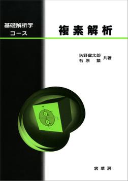 基礎解析学コース 複素解析-電子書籍