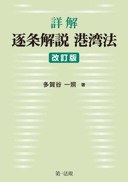 詳解 逐条解説港湾法 改訂版-電子書籍