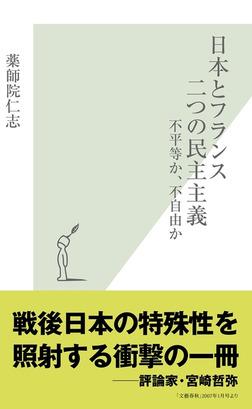日本とフランス 二つの民主主義~不平等か、不自由か~-電子書籍