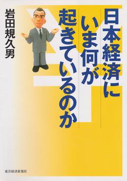 日本経済にいま何が起きているのか-電子書籍