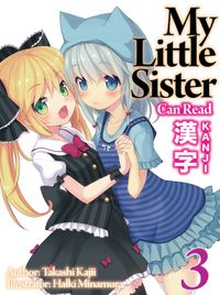 My Little Sister Can Read Kanji: Volume 3
