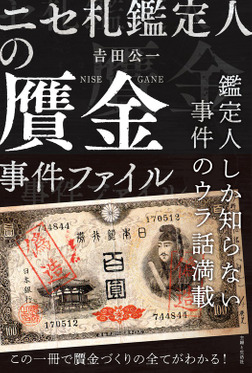 ニセ札鑑定人の贋金事件ファイル-電子書籍