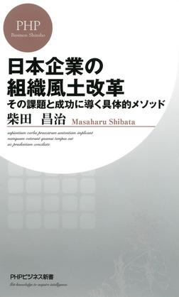 日本企業の組織風土改革 その課題と成功に導く具体的メソッド-電子書籍